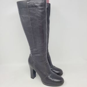 Women's Brown Leather Tall Boots Simply Vera Wang